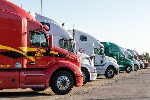 Female Executives Climbing Trucking Ladder