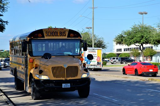 2 Teens Injured in School Bus Crash
